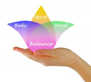 Balance body mind spirit